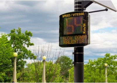Radar Speed Signs in Ottawa